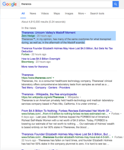 Me as top story Google Theranos Screen Shot 2016-06-07 at 6.51.44 AM