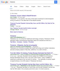 Me as top Theranos Google Screen Shot 2016-06-07 at 10.34.02 AM